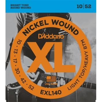 D'Addario 10-52 EXL140
