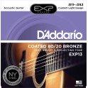 D'Addario Custom Light 11-52 EXP13NY 80/20 Bronze