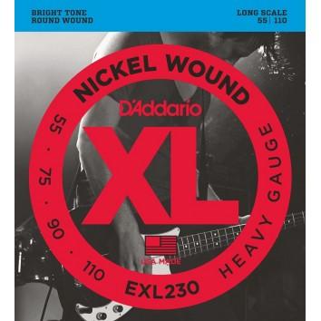 D'Addario 55-110 EXL230 Heavy