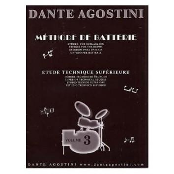 Méthode de Batterie Vol.3 - Agostini