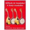 Méthode de Mandoline & Banjo Mandoline - Edgar Bara