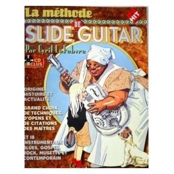 La Méthode de Slide Guitar + CD - LeFebvre