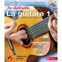 Je Débute la Guitare 1 + CD - Tablatures - P. Heuvelinne / M. Rouvé