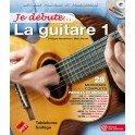 Je Débute la Guitare 1 + CD - Tablatures - P. Heuvelinne / M. Rouvé