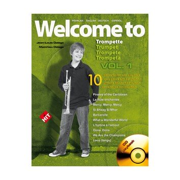 Welcome to Trompette Vol.1 + CD - JL. et M. Dellage