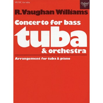 Concerto for bass tuba and orchestra - R.Vaughan Williams