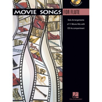 Movie Songs For Flute + CD