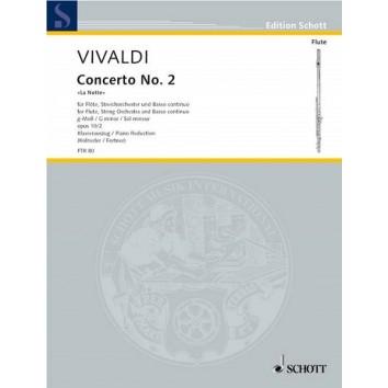 """Vivaldi - Concerto N°2 """"La Notte"""" en Sol Mineur opus 10/2 pour Flûte"""