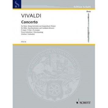 Vivaldi - Concerto en Fa Majeur opus 10/1 pour Flûte