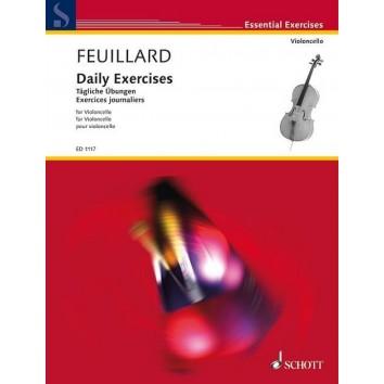 Daily Exercices (pour violoncelle) - Feuillard