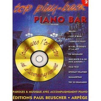 Top Play-Back Piano Bar Vol.2 + CD