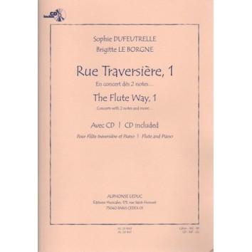 Rue Traversière, 1 - en concert dès 2 notes - S. Dufeutrelle