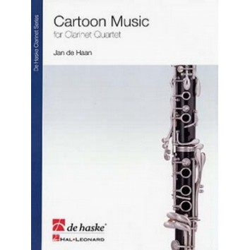 Cartoon Music for Clarinet Quartet - Jan de Haan