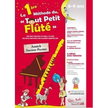 """La 1ère Méthode du """"Tout Petit Flûté"""" 6-9 ans + CD"""