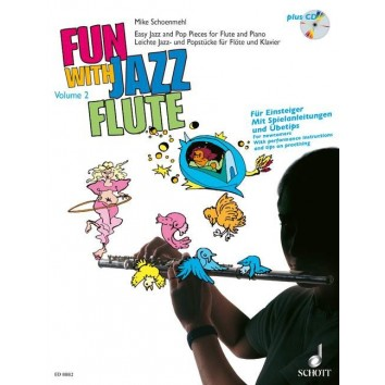 Fun with Jazz Flute Vol.2 + CD - M. Schoenmehl