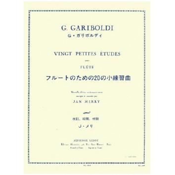 Vingt petites études pour flûte - G. Gariboldi