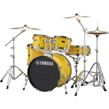 Yamaha RDP0F5 Rydeen Mellow Yellow Kit et cymbales
