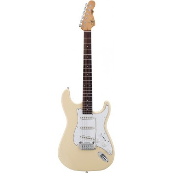 G&L Tribute S500-VWH Vintage White
