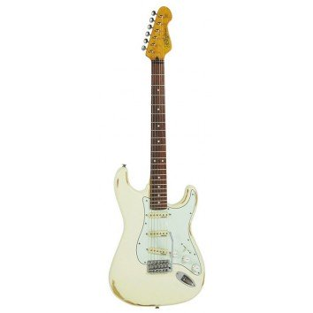 Vintage V6MRWW Distressed Woodstock White