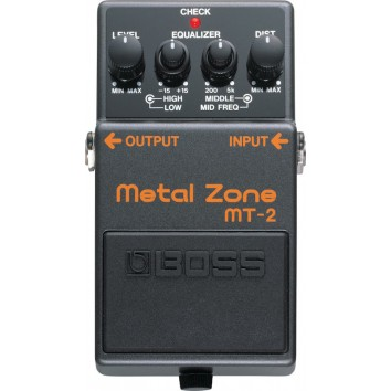 Boss MT-2 Metal Zone (distorsion)