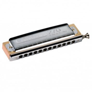 HOHNER Chromatique C (Do) Chromonica 270 Deluxe 7540/48