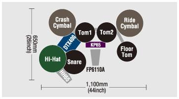 schéma Batterie DTX430K