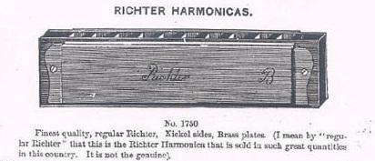 harmonica système réglage richter